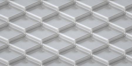 3D geometric background from glass squares. 3d rendering. 3d illustration Stock fotó