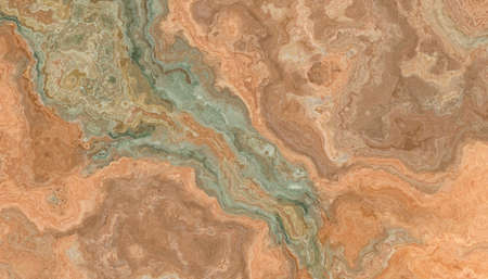 Multicolor onyx tile with green and orange weaves. Background texture for design. Stock fotó - 166620855