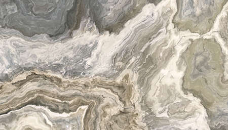 Gray and beige marble pattern. Abstract texture and background. 2D illustration Stock fotó