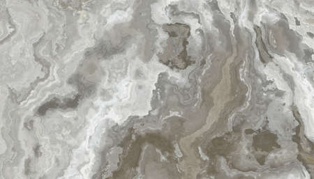 Gray and white marble pattern. Abstract texture and background. 2D illustration