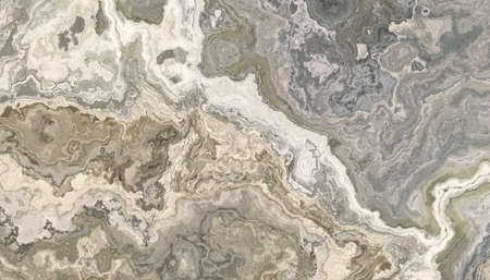 Gray and beige marble pattern. Abstract texture and background. 2D illustration Stock fotó - 166617404