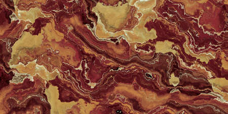 Red Onyx abstract Pattern. Texture and background. 2d marble illustration. Natural beauty