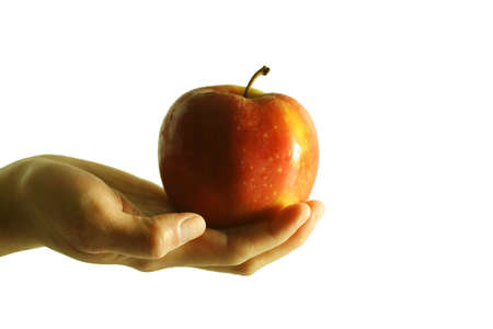 conscious: Give an apple for health conscious