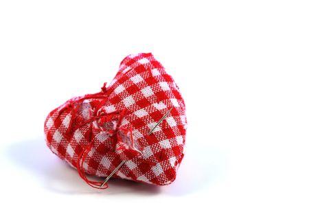 Herstellen van de gebroken hart Stockfoto