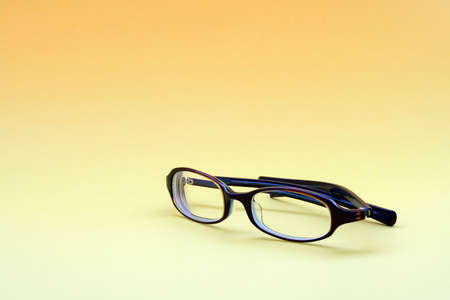 ヒップとモダンなメガネ 写真素材