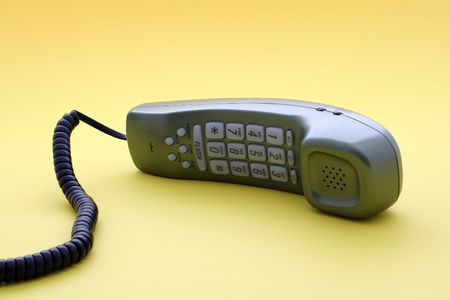 Touch tone phone, technologycustomer servicesupport concept