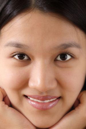 Close-up of a woman face Stock Photo - 463633