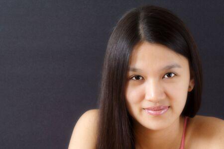 A portrait of a pretty woman Stock Photo - 463657