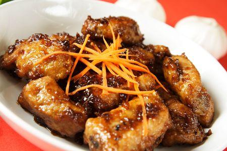 고기의: Pork spare ribs with sweet chili sauce