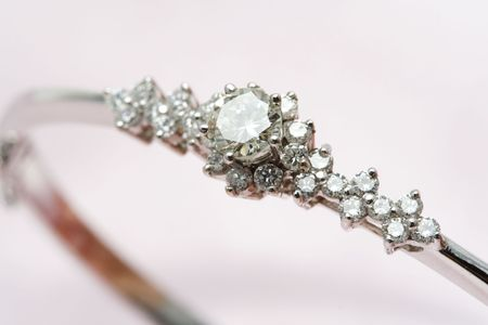 pricey: A close up shot of a diamond jewelry