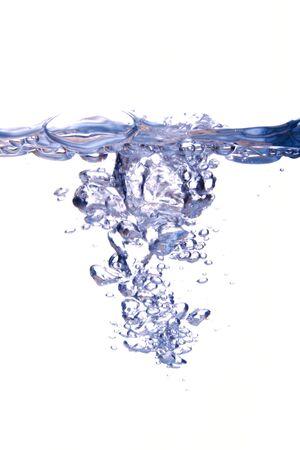 튀는 물방울의 추상 형태