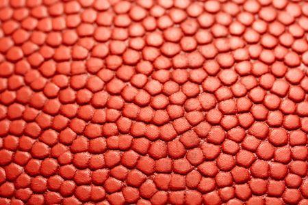 A closeup shot of a basketball texture