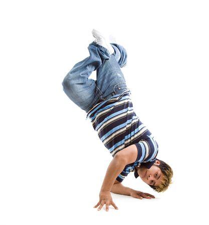 A shot of a hispanic male dancer photo
