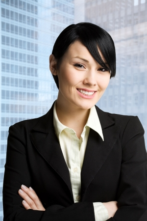 A shot of a young and beautiful businesswoman Stock Photo - 3112975