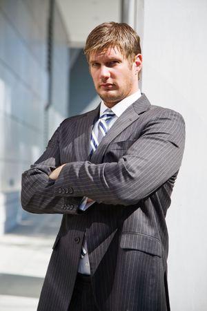 A shot of a confident caucasian businessman Stock Photo - 3574065