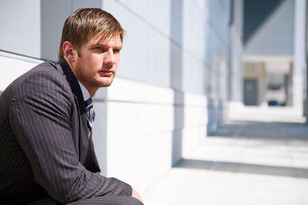 A shot of a confident caucasian businessman Stock Photo - 3574063