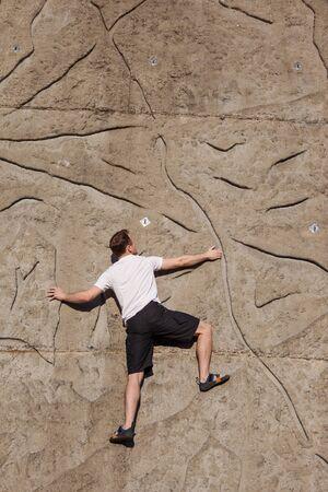 Wall climbing series