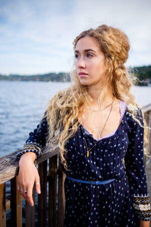 Outdoor woman series