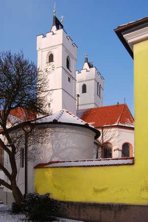 White church in Bavaria in Germany Stock Photo - 4507127