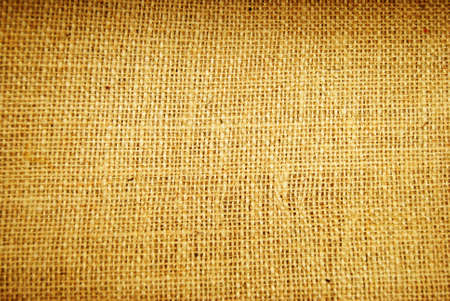 sisal: Textured brown sisal potatoe sack