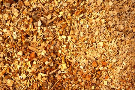 Détails de la biomasse en bois hachés chips