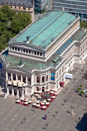 The old opera house in Frankfurt in Germany photo