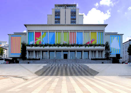 brest: The city hall of Brest in the Bretagne in France Stock Photo