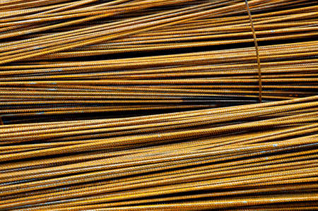 armoring: Assembly of metal armoring steel rods
