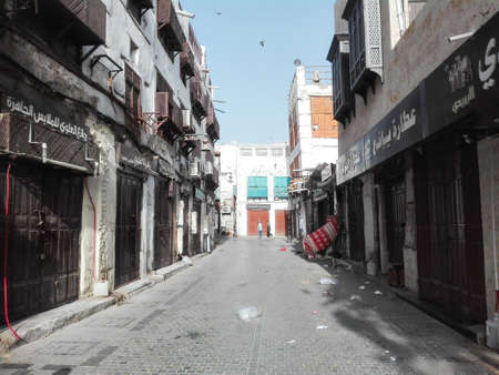 View in one of the streets in the