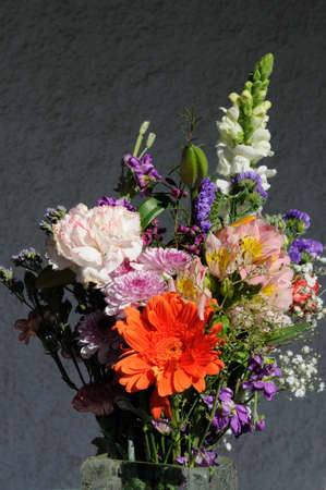 andalusian: Bouquet of flowers, Costa del Sol, Malaga Province, Andalucia, Spain, Western Europe  Stock Photo