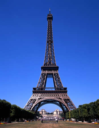 View of the Eiffel Tower, Paris, France, Europe  Stock Photo - 13751732