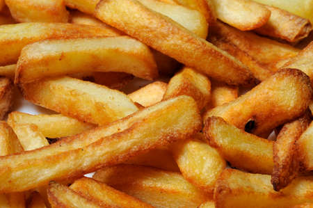 Chips  French fries , Calypso, Costa del Sol, Malaga Province, Andalucia, Spain, Western Europe  Stock Photo - 13930831