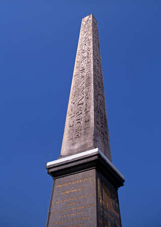 The Obelisk of Luxor, Place de la Concorde, Paris, France, Western Europe  photo