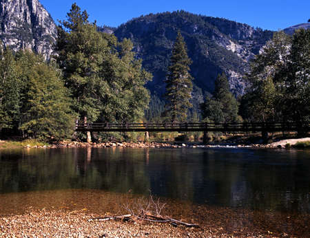 Merced River, Yosemite National Park, California, USA Stock Photo - 15999494