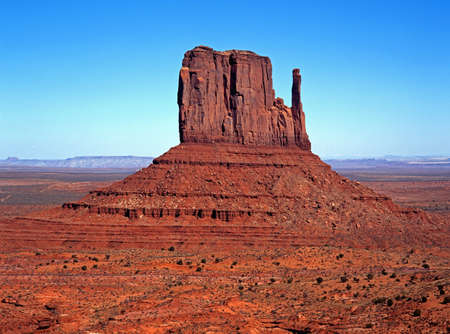 West Mitten Butte, Monument Valley, Utah Arizona, United States of America