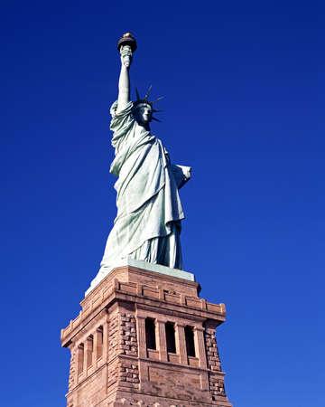 evoking: Statue of Liberty, Liberty Island, New York, USA