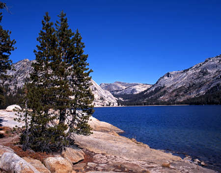 Tenaya Lake, Yosemite National Park, California, USA photo