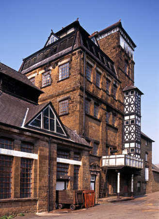 Victorian Tower Brewery, Hook Norton, Cotswolds, Oxfordshire, UK, Western Europe  Stock Photo