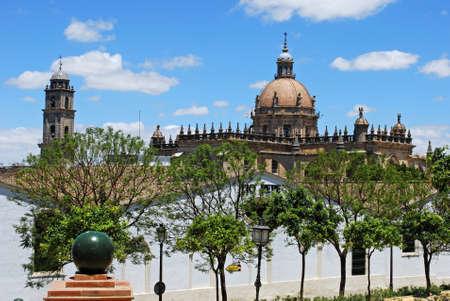 jerez de la frontera: Cathedral, Jerez de la Frontera, Cadiz Province, Andalusia, Spain, Western Europe