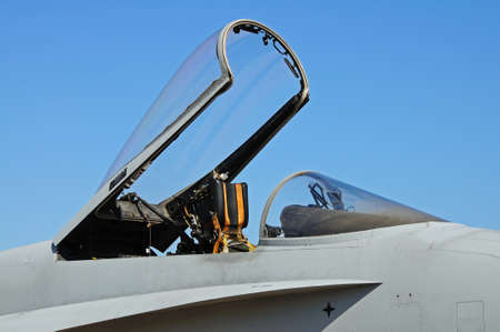 f18: F-18 hornet fighter plane canopy