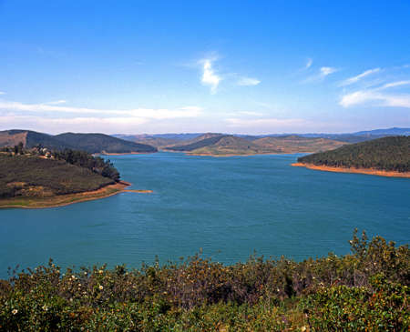 Barragem da Bravura Reservoir, Algarve, Portugal, Western Europe