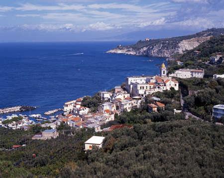 massa: Marina della  Lobra, Massa Lubrense, Campania, Italy, Europe
