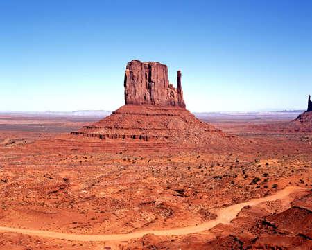 West Mitten Butte, Monument Valley, Utah Arizona, United States of America
