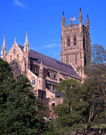 Cathedral Church of Christ and the Blessed Virgin Mary, Worcester, Worcestershire, England, UK, Western Europe