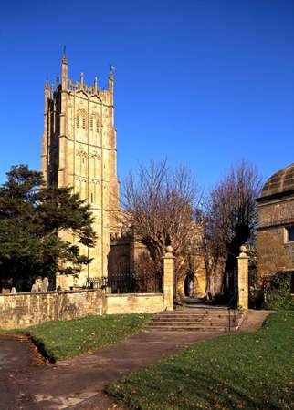 cotswold: Chiesa di San Giacomo, Chipping Campden, Gloucestershire, Cotswold, Inghilterra, Regno Unito