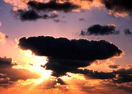u s: Clouds at sunset, Fort Lauderdale, Florida, USA