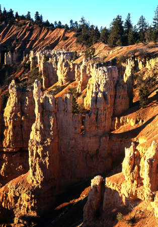 fairyland: Fairyland point at sunrise, Bryce Canyon National Park, Utah, USA
