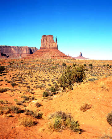 mitten: West Mitten Butte, Monument Valley, Arizona, USA