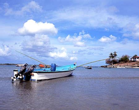 Fishing Boats, Buccoo bay, Tobago, Trinidad   Tobago, Carribean, West Indies