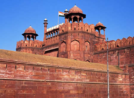 The Red Fort, Old Delhi, India  Banque d'images